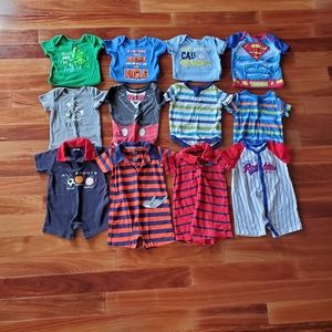 Other - Lot of 12 month boy onsies